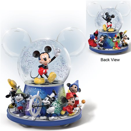 90th Anniversary Rotating Globe - Mickey Mouse