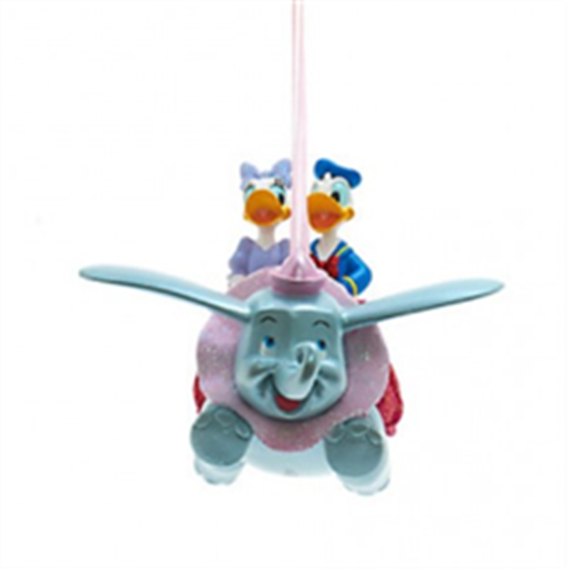 8478 3D Ornament - Dumbo, Donald & Daisy