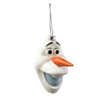 Glass Ornamentb Glitter - Olaf
