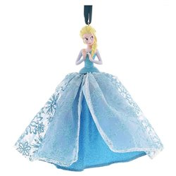 8190 3D Ornament X-Mas Gown - Elsa