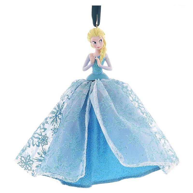 8190 3D Ornament X-Mas Gown - Elsa