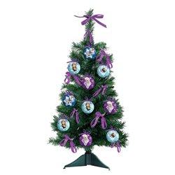 18 dlg Kerstboom met onbreekbare ornamenten 60cm - Frozen