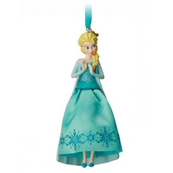8777 3D Gown Ornament - Elsa
