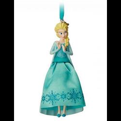 8777 3D Gown Ornament - Elsa