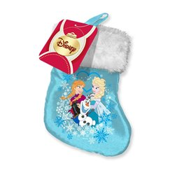 Bonte Mini Satin Kerstsok - Frozen