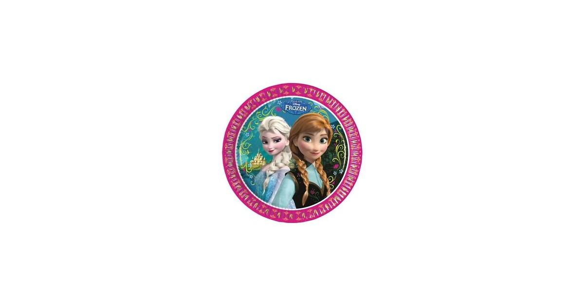 Kartonnen Bordjes  - Anna & Elsa