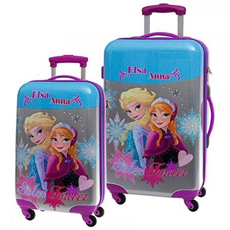 Trolley Groot 67cm  - Anna & Elsa