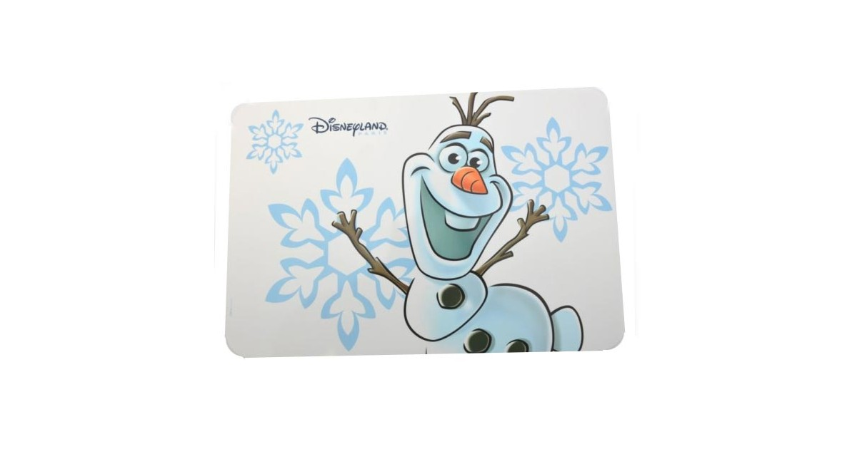 Placemat Wit - Olaf