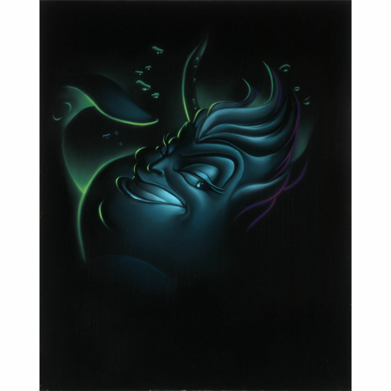 Villians Giclee on Canvas - Ursula