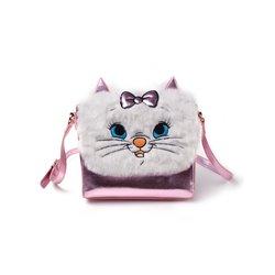 Furry Sholder Bag - Marie