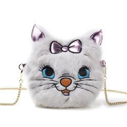 Furry Cross Body Bag - Marie