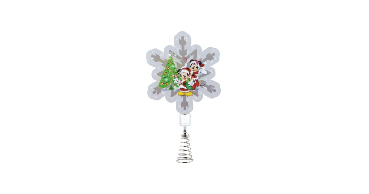 Holidazzler Tree Topper/Piek - Mickey & Minnie