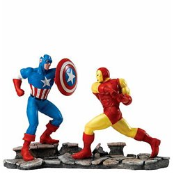 Captain America vs. Iron Man