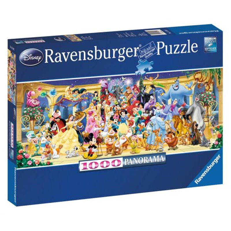 Puzzel 1000 Stuks - Groepsfoto - Mickey & Friends