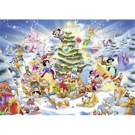 Puzzel 1000 Stuks - Kerstmis Disney