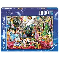Puzzel 1000 Stuks - Kerstmis op Station - Disney