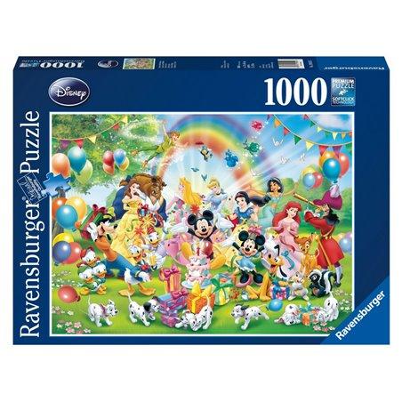 Puzzel 1000 Stuks - Mickey is jarig
