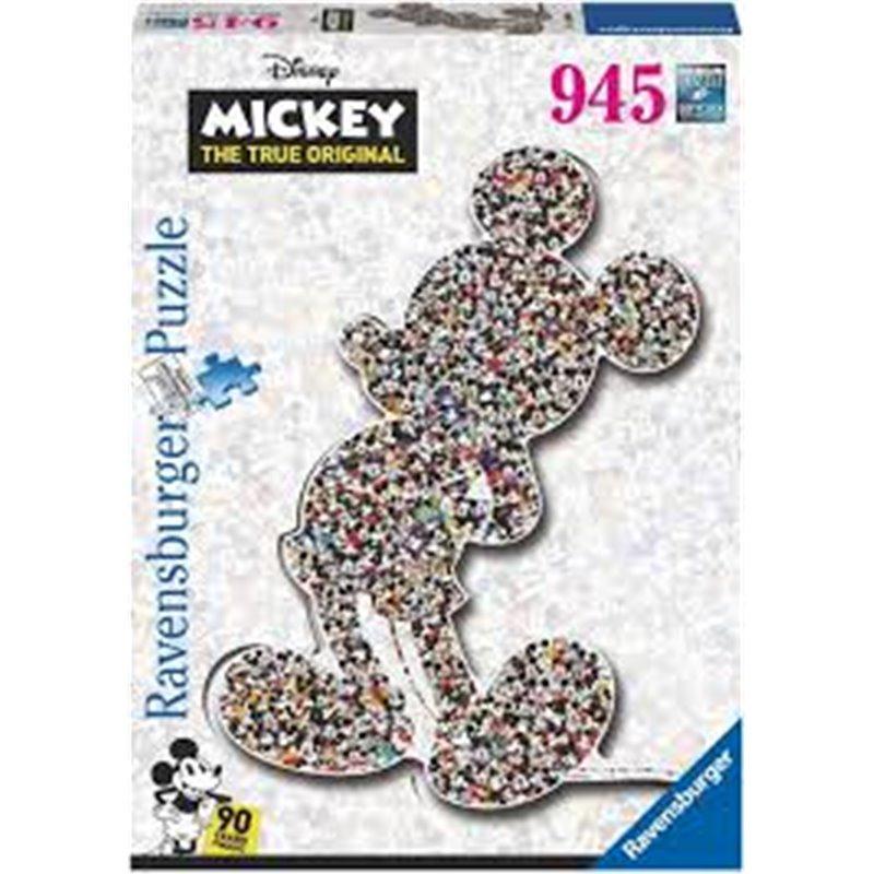 Puzzel 945 stuks Shaped - Mickey