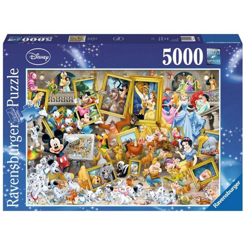 Puzzel Artistic Mickey - Disney