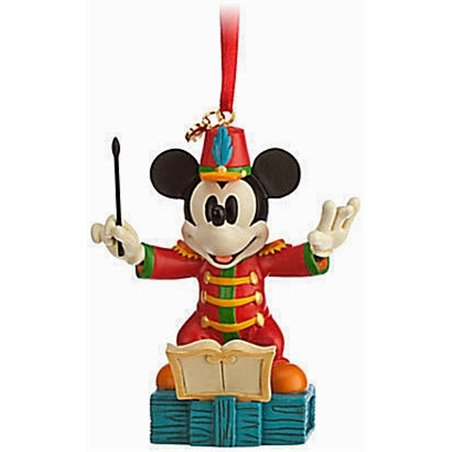 8123 3D Dangle Ornament - The Band Concert - Mickey