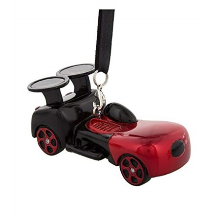 8718 3D Dangle Ornament Racer - Mickey