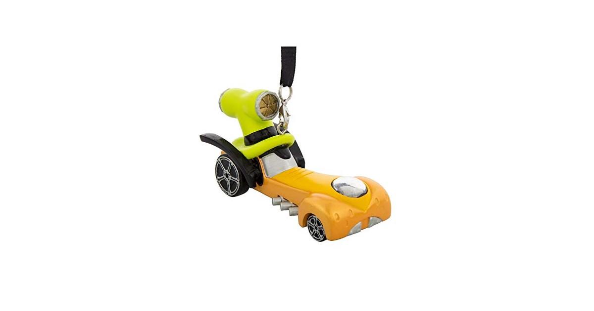 8721 3D Dangle Ornament Racer - Goofy