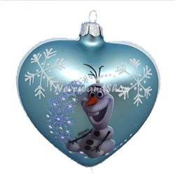 Glas Ornament Zit - Olaf