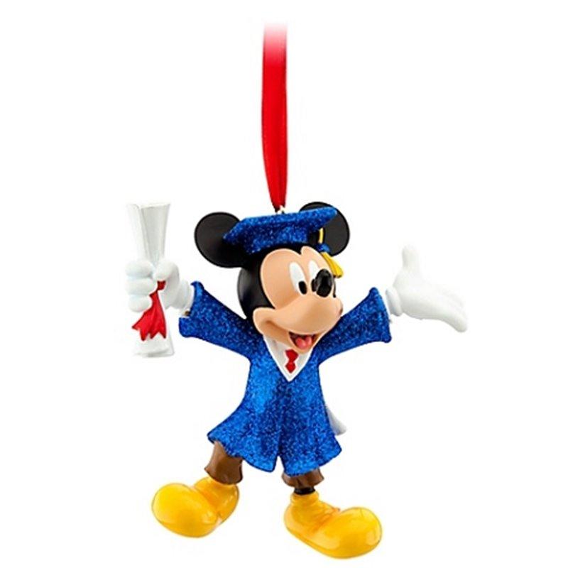 7845 3D Dangle Ornament - Graduate - Mickey