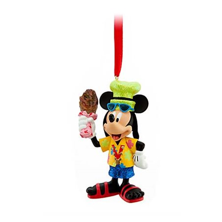 7464 3D Dangle Ornament - Disney Park Fan - Mickey