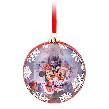 8006 Halve bal met Print - Mickey & Minnie