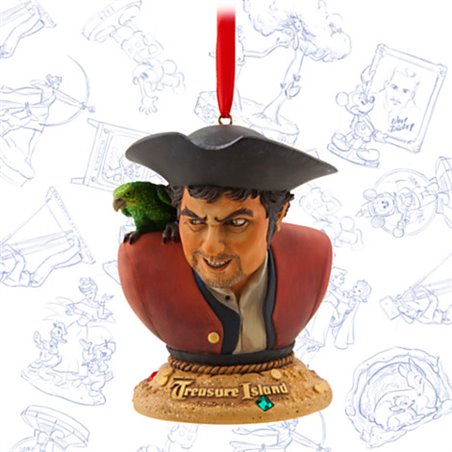 Sketchbook Ornament LE - Treasure Island