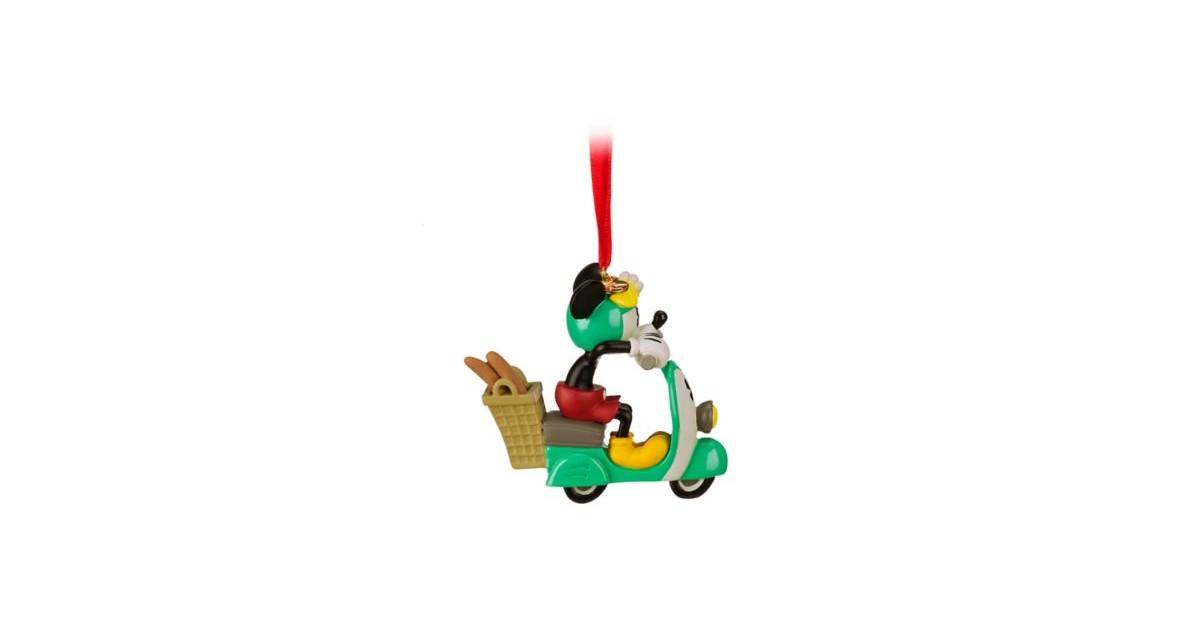 8272 3D Dangle Ornament - Croissant de Triomphe - Mickey