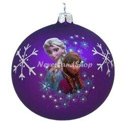 Glas Ornament Portret- Anna & Elsa