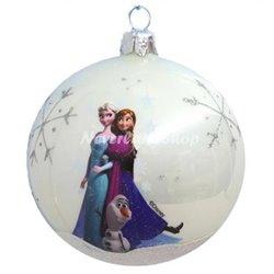 Glas Ornament Sisters - Anna, Elsa & Olaf