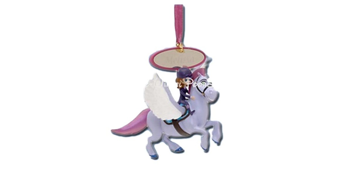 8085 3D Dangle Ornament - Sofia & Minimus