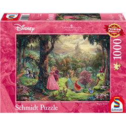 Thomas Kinkade Puzzel - Sleeping Beauty