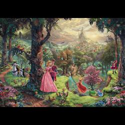 Thomas Kinkade Puzzel - Sleeping Beauty