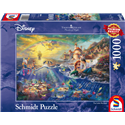Thomas Kinkade Puzzel - The Little Mermaid