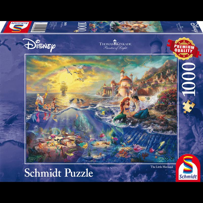 Thomas Kinkade Puzzel - The Little Mermaid