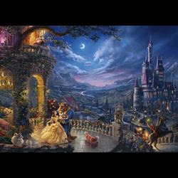 Thomas Kinkade Puzzel - Beauty & the Beast