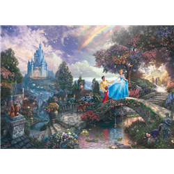 Thomas Kinkade Puzzel - Cinderella