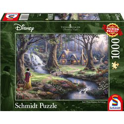 Thomas Kinkade Puzzel - Snow White