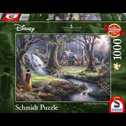 Thomas Kinkade Puzzel - Snow White