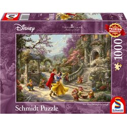 Thomas Kinkade Puzzel Dancing in the Sunlight - Snow White