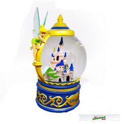 SnowGlobe Medium Castle - Tinker Bell