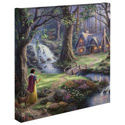 Thomas Kinkade Discovers the Cottage - Snow White