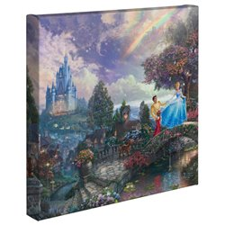 Thomas Kinkade Wishes Upon a Dream - Cinderella