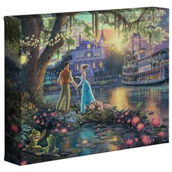 Thomas Kinkade - Princess & the Frog