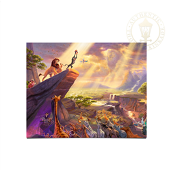 Thomas Kinkade - Lion King