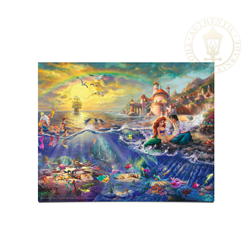 Thomas Kinkade - Little Mermaid